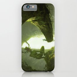 How do you mean you don't wanna go outside? iPhone Case