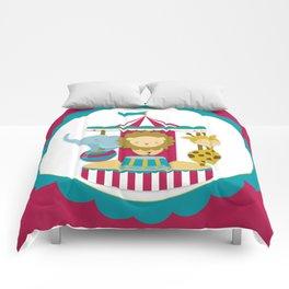Carousel animals Comforters
