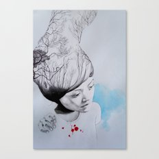 Hidden trees Canvas Print