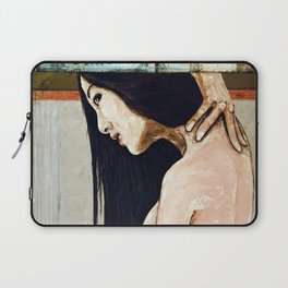 Cradle to the tomb Laptop Sleeve