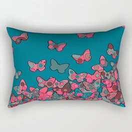 Flutterflies Rectangular Pillow