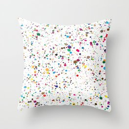 Colourful Sting Pattern Throw Pillow