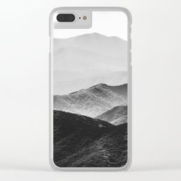 Smoky Mountain Clear iPhone Case