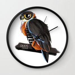 Falcon Wall Clock