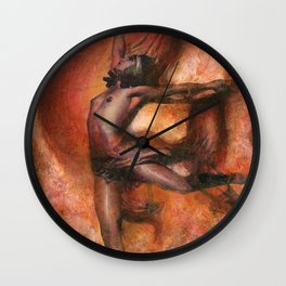 Witches' Dance Wall Clock