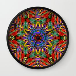 Spiral Regeneration Wall Clock
