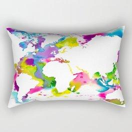 Globe Trotter Jour Rectangular Pillow