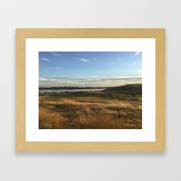 Brush Framed Art Print