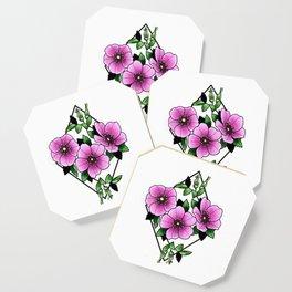 Nootka Rose Coaster
