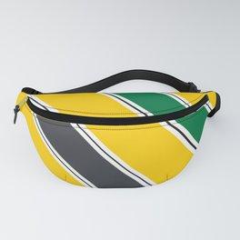 Ayrton Senna Stripes Fanny Pack