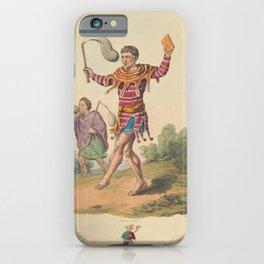 Kramer Peter  ArtClowns and jesters in nineteenthcentury printsAdditional Premieres illustrees iPhone Case