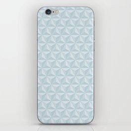 Spaceship Earth Triangles iPhone Skin