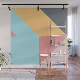 Geometric Pattern VII Wall Mural