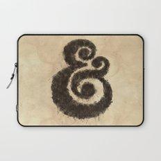 Ink Ampersand Laptop Sleeve