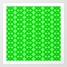 Green Box 45 Art Print