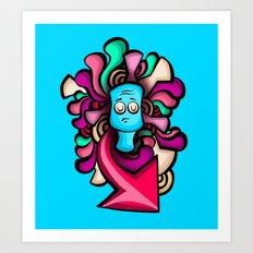 Foo Art Print