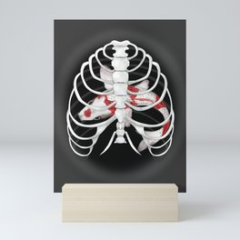 Ribs are cages Mini Art Print