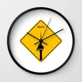 Berlin sign Wall Clock