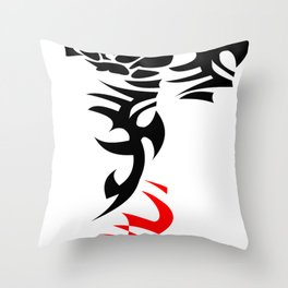 tattoo rose with torns, ed shereen tattoo Throw Pillow