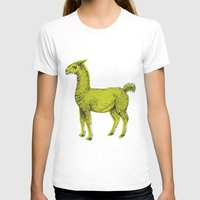 llama T-shirts featuring llama by youareconstance