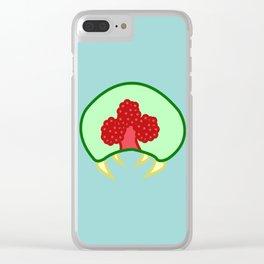 Metroid Larva Clear iPhone Case