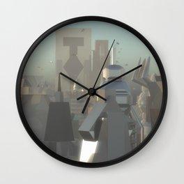 Valor City Day Wall Clock