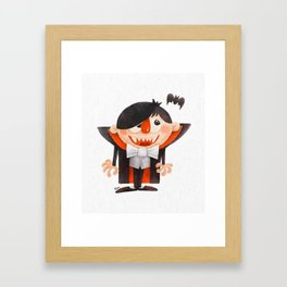 Dracula kid Framed Art Print
