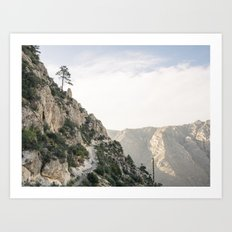 Guadalupe Mountains National Park, Texas. Art Print