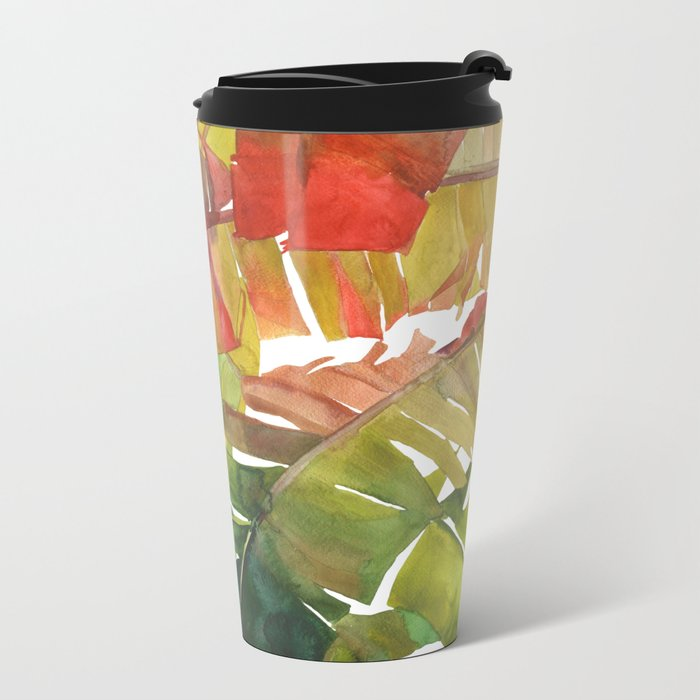 The Jungle vol 5 Metal Travel Mug