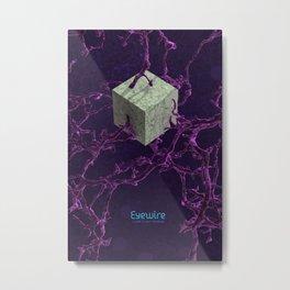 The Cube Metal Print