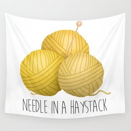Needle In A Haystack Wall Tapestry