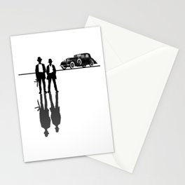 Roaring 20s Gangster Mob Mafia 1920s Gift Stationery Cards