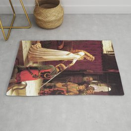 Knight of Excalibur Rug