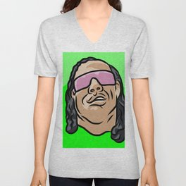 "Bret ""The Gunman"" Hart Unisex V-Neck"