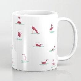 Flamingo Yoga Coffee Mug