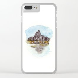 The Enchantments Clear iPhone Case