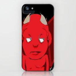 Al Demonino iPhone Case