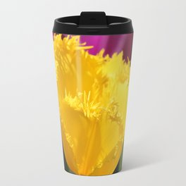 Yellow Tulip Travel Mug