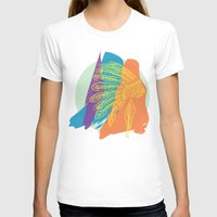 headdress T-shirts featuring Headdress  by kpatron