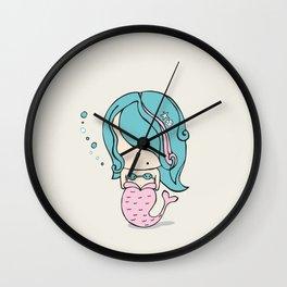 Mimi the Mermaid Wall Clock