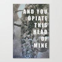 medicine Canvas Prints featuring Medicine  by AEP Designs