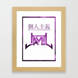 jamil Framed Art Print