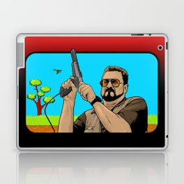 Duck Hunting On Shabbos Laptop & iPad Skin