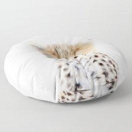 Baby Cheetah Portrait Floor Pillow