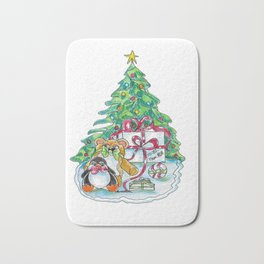 Christmas Presents Bath Mat