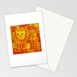 Patterned Lion Stationery Cards