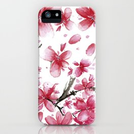 Cherry Blossoms #society6 #buyart iPhone Case