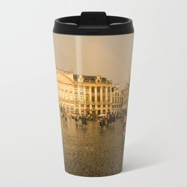 From Brussells with Love Metal Travel Mug