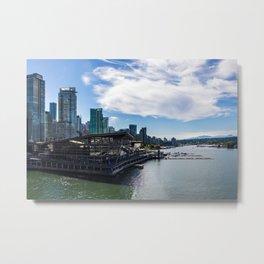 Port of Vancouver Metal Print