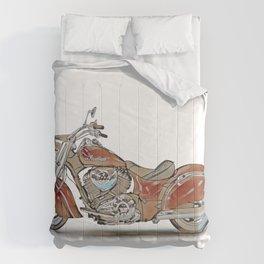 Classic Motorbike Comforters